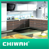 2014 high gloss finish acrylic mdf kitchen cabinet