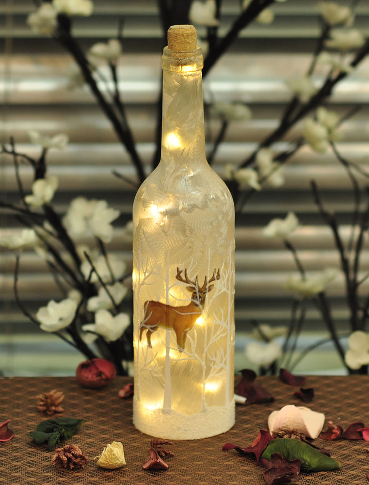 LED Glass Bottle