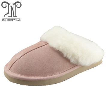 Pink Women's Sheepskin Slippers