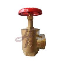 Fabricante da válvula da mangueira de boca de incêndio do bronze da carcaça do OEM