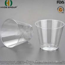 Tasse d'injection jetable en plastique en gros de matériel de picoseconde