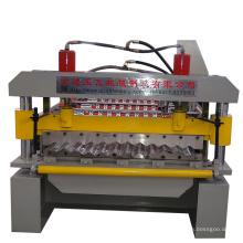 Metal Roofing Galvanized Aluminum Corrugated Steel Sheet Making Machine