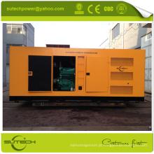 Alta qualidade 1200KVA gerador diesel silencioso alimentado por motor CUMMINS KTA50-G3