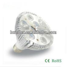 La venta caliente 9w par30 llevó el proyector e27 del bulbo 900lumen 100-240V