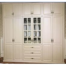 Customized European Style PVC Vacuum Wardrobe Closet (MOQ= 1 SET)