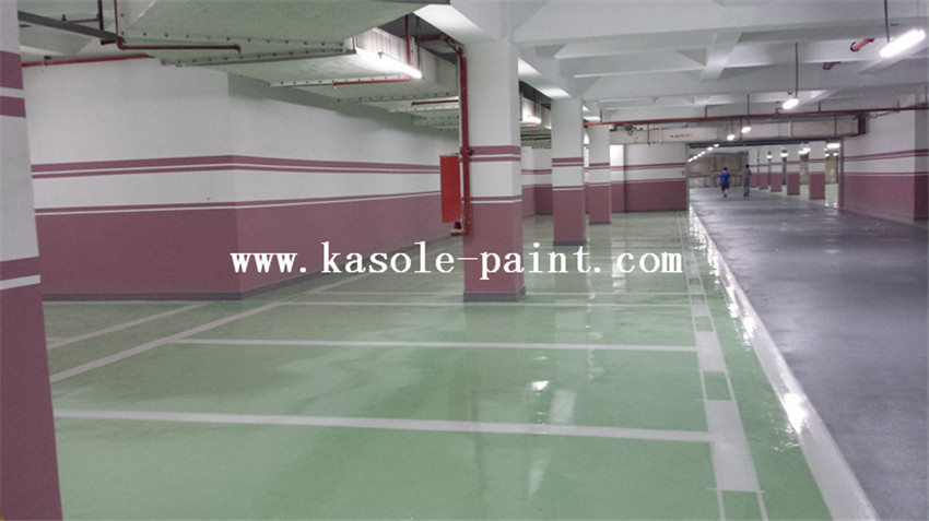 Grass Green Epoxy Topcoat Material