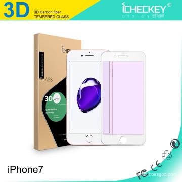 Für Iphone7 Displayschutzfolie aus gehärtetem Glas, 3D-Bild aus gehärtetem Vollglas