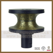 Diamond Profiling Wheels Bullnose Profiling Wheel D80mm-Sunnytools