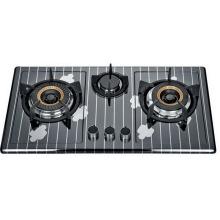 Cocina de gas de tres quemadores (SZ-LX-244)