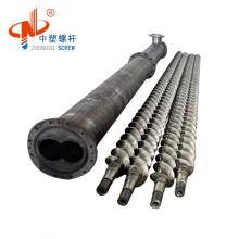 ISO9001:2008 Certification PET PP PVC Extrusion Machine Parts Parallel Screw Barrel