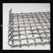 2014Hot Sale Galvanisé Maillage métallique à maille tissée