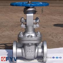 Válvula de portão para uso na indústria de petróleo e gás