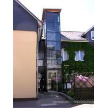 Maison de verre panoramique Petite maison Villa Ascenseur