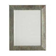 Miroir de mur industriel encadré par métal rectangle antique fini par vert