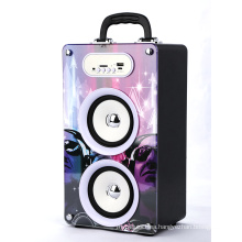 BBQ KBQ-162 20W 2000mAh High Acoustical Support 5C Replacable Battery PC Speaker with Handle