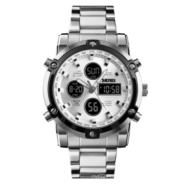 hot sale wholesale sports watch SKMEI 1389 military wrist digital double display watches