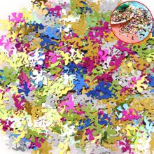 Petite étoile confettis, étoile de paillettes