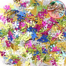 Confete estrela pequena, estrela de brilho