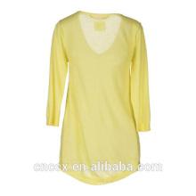 15STC1002 V neck 100% cashmere jumper