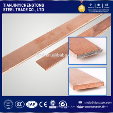 CK45 hot rolled flat bar with copper finish
