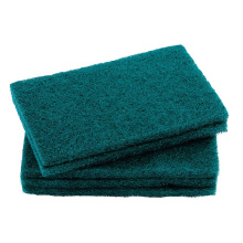 Kitchen cleaning pad abrasive nylon green scouring pad