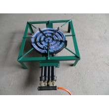 Fogão de pressão de ferro fundido Sgb-10 4rings