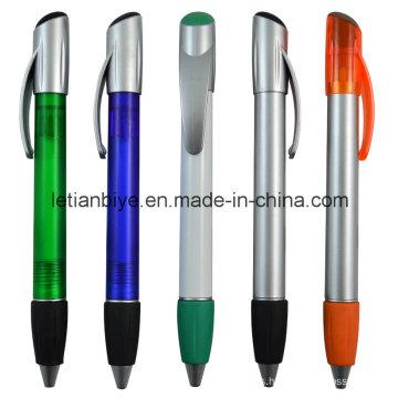 El mejor artículo promocional, haga clic en el bolígrafo plástico (LT-C711)