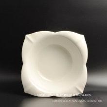 Plaque en céramique blanche de haute qualité d'utilisation d'hôtel