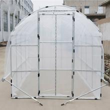 Hot Galvanized Steel Pipe Mini garden greenhouse