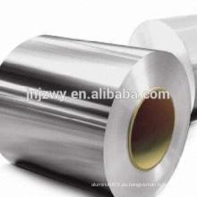 Bobinas de aluminio para techos