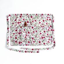 Delantal personalizado de la vendimia de impresión de la cintura medio delantal, delantal de algodón