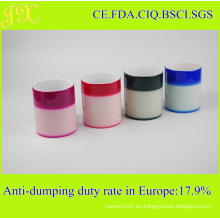 Taza de cerámica mágica respetuosa del medio ambiente, tazas cambiantes del color