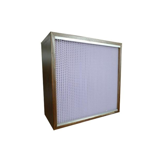 Deep Pleated Rigid Box Filters