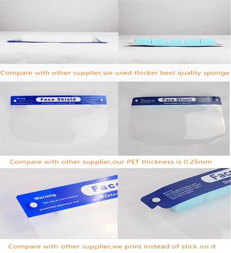 Premium Face Shield Compare With Cheap Face Shield