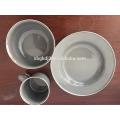 outdoor enamelware camping mug carbon steel Enamel plate/bowl/mug