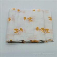 Fabrik Lieferanten Musselin Stoff Baby Swaddle Wrap