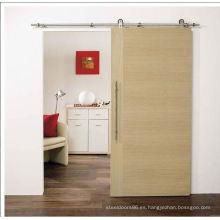 Herrajes para puertas madera correderas, puerta del dormitorio