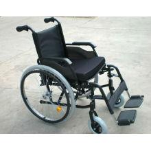 """6 """"PU castor dianteiro Cadeira de rodas de alumínio"""