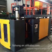 Ningbo fuhong CE China supplier plastic hdpe pp bottle 20 jerry can extrusion blow molding moulding machinery price manufacturer