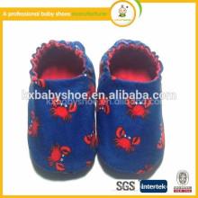 2015 moda bonito sapatos berço bebê berço artesanal infantil sapatos
