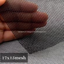 Écran de fenêtre en acier inoxydable transparent étanche à la poussière