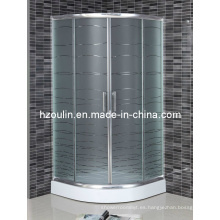 Cuarto de ducha de vidrio ácido (AS-901)