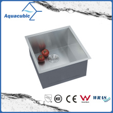 Tazón de fuente hecho a mano de acero inoxidable Cupc cocina fregadero (ACS1920A1)