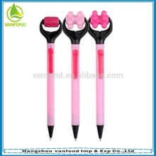 High quality novelty promotional massage ball pen