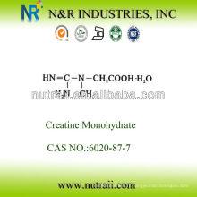 Fournisseur fiable, poudre de monohydrate de créatine 6020-87-7