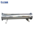 Condor do refrigerador de água do permutador de calor do escudo e do tubo