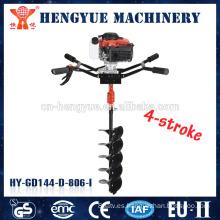 taladro para caladero máquina mano pequeña excavación taladro de tierra de la máquina de perforación