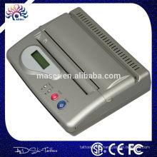 Novo DesignTop Qualidade Preto USB Interface Mini máquina de transferência de tatuagem conectado computador tatuagem térmica copiadora transferência impressora
