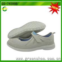 Sapatos casuais de mulheres populares de design novo (GS-74599)