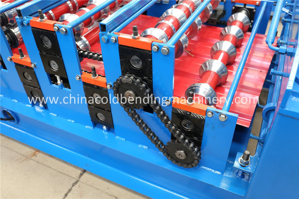 Double Deck Roll Forming Machinery
